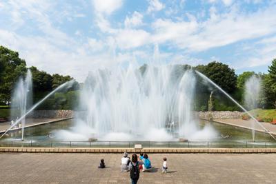 音楽噴水の写真